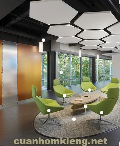 Văn phòng kính đẹp bền hiện nay